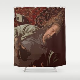 Chill Lebowski Shower Curtain