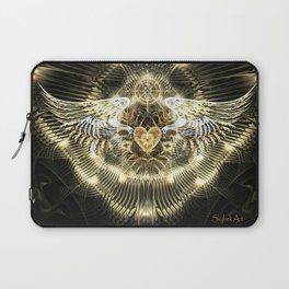 Gold Wings Laptop Sleeve