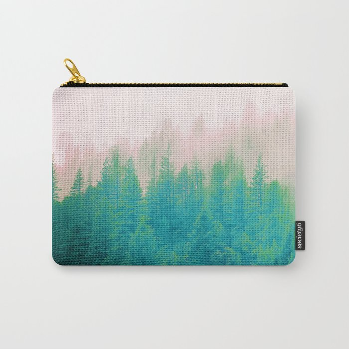 Forest Fog V2 #society6 #decor #buyart Carry-All Pouch