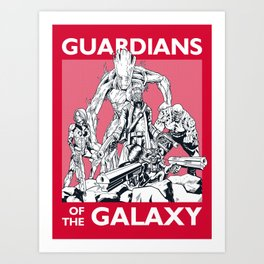Guardians Art Print