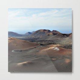 Lanzarote Landscapes - Spain Metal Print