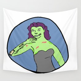 Priscilla Zombie Wall Tapestry