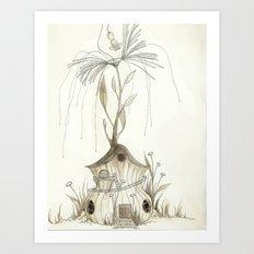 Fairy House Art Print