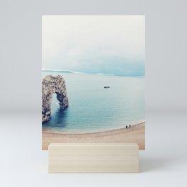 Blue Mindset Mini Art Print