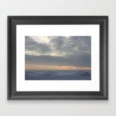 Winter III Framed Art Print