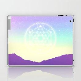 Sacred Geometry (Sacred Merkaba) Laptop & iPad Skin
