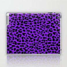 Neon Purple Leopard Laptop & iPad Skin