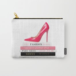 Books and shoes Carry-All Pouch