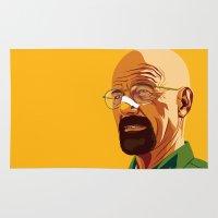 heisenberg Area & Throw Rugs featuring Heisenberg by Stan Pro