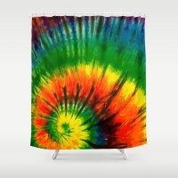hippie Shower Curtains featuring HIPPIE by Maioriz Home