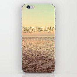 Staring at the Water iPhone Skin