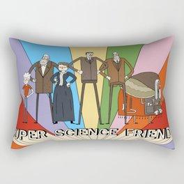 Super Science Friends Team Rectangular Pillow