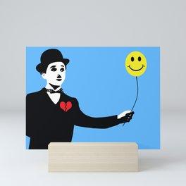 Silent Prodigy - Charlie Chaplin Mini Art Print