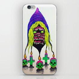 crowley wisdom 1 iPhone Skin