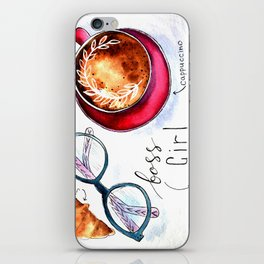 Boss girls rock! iPhone Skin