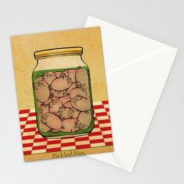 Pickled Pig Revisited Stationery Cards