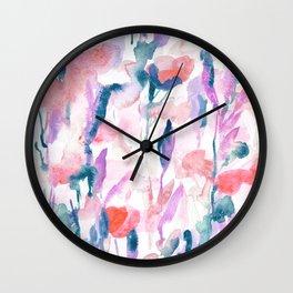 Resolve Coral Wall Clock