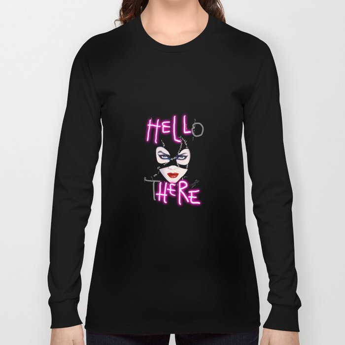 Catwoman Long Sleeve T Shirt