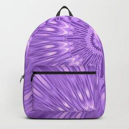 Lavender Purple Mandala Explosion Backpack