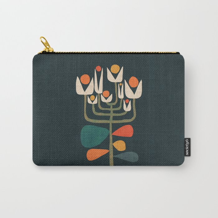Retro botany Carry-All Pouch