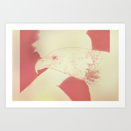 """Once I Was an Eagle"" by Justin Hopkins Art Print"