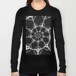 Dark Mandala #3 Long Sleeve T-shirt