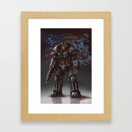 Enclave trooper Framed Art Print