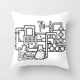 lab Throw Pillow