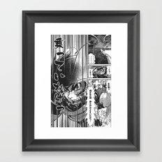 Manga 03 Framed Art Print