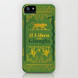 il libro della giungla iPhone Case