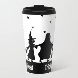 Trick-or-Treat - Silhouette Travel Mug