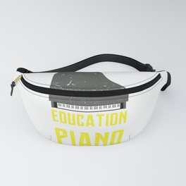Piano Is Importanter Piano Music Teacher Jazz Blues Classical Music Fanny Pack