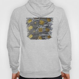 Gold Leaf on Marble Hoody