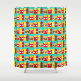 Fast Food Shower Curtain