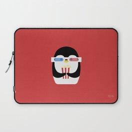 Penguin + Movie Time Laptop Sleeve