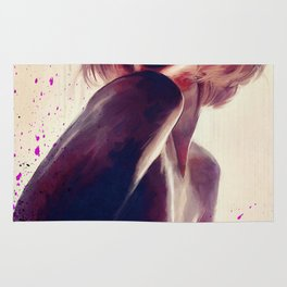 The Nude Silhouette - Faceless Beauty Rug