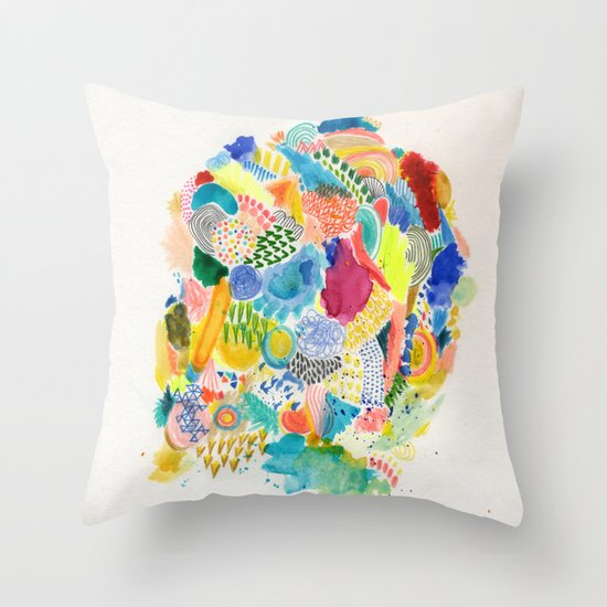 It's like a fucking awesome incredible dream Throw Pillow
