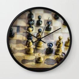 Zugzwang 1923 Wall Clock
