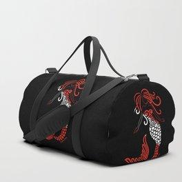 Tribal Scuba Flag Mermaid Duffle Bag