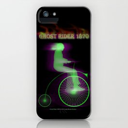 GHOST RIDER 1870 - 059 iPhone Case