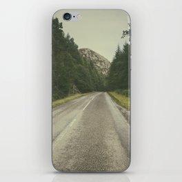 A Road in the Wilderness II iPhone Skin