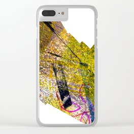 Wiggle Worm Clear iPhone Case