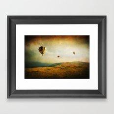 One Man's Dream Framed Art Print