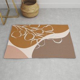 Organic Shapes & Plants Rug