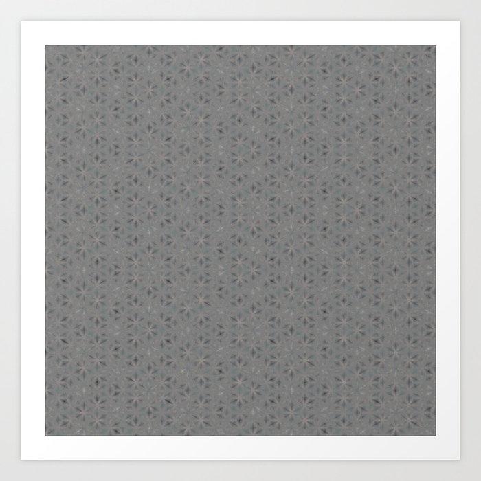 Geometric Abstract Pattern 2 Art Print