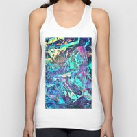 holographic Tank Tops featuring Holographic II by Nestor2