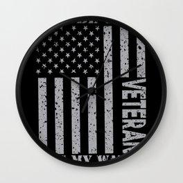 My Watch Never Ends - Veteran Wall Clock