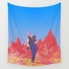 Cosmonaut.2. Wall Tapestry