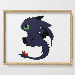 Little Baby Dragon Serving Tray