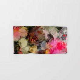 Paint Splatter Bouqet  Hand & Bath Towel